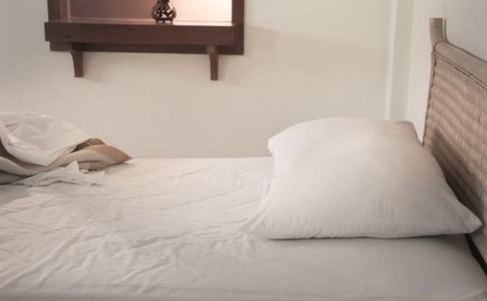 ta bort kvalster från sängen