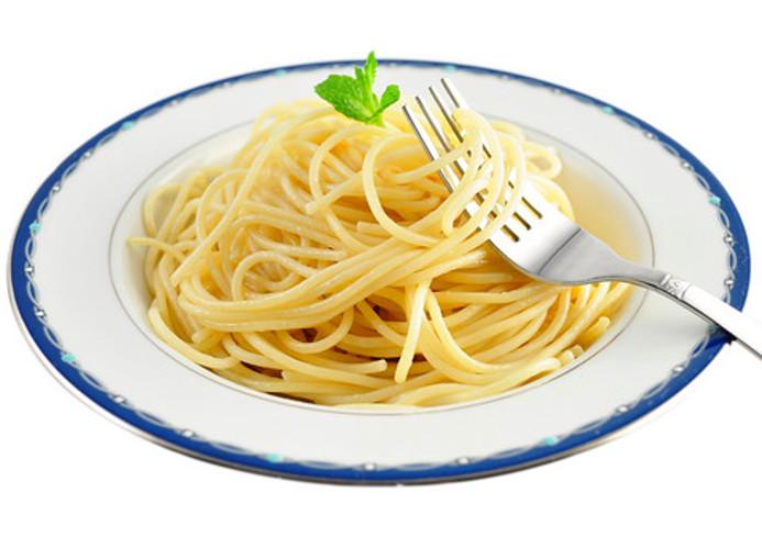 ont i magen av pasta