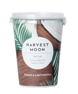 Harvest moon coconut milk yoghurt