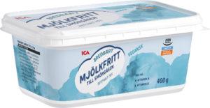 Förpackning ICA mjölkfria smörgåsmargarin
